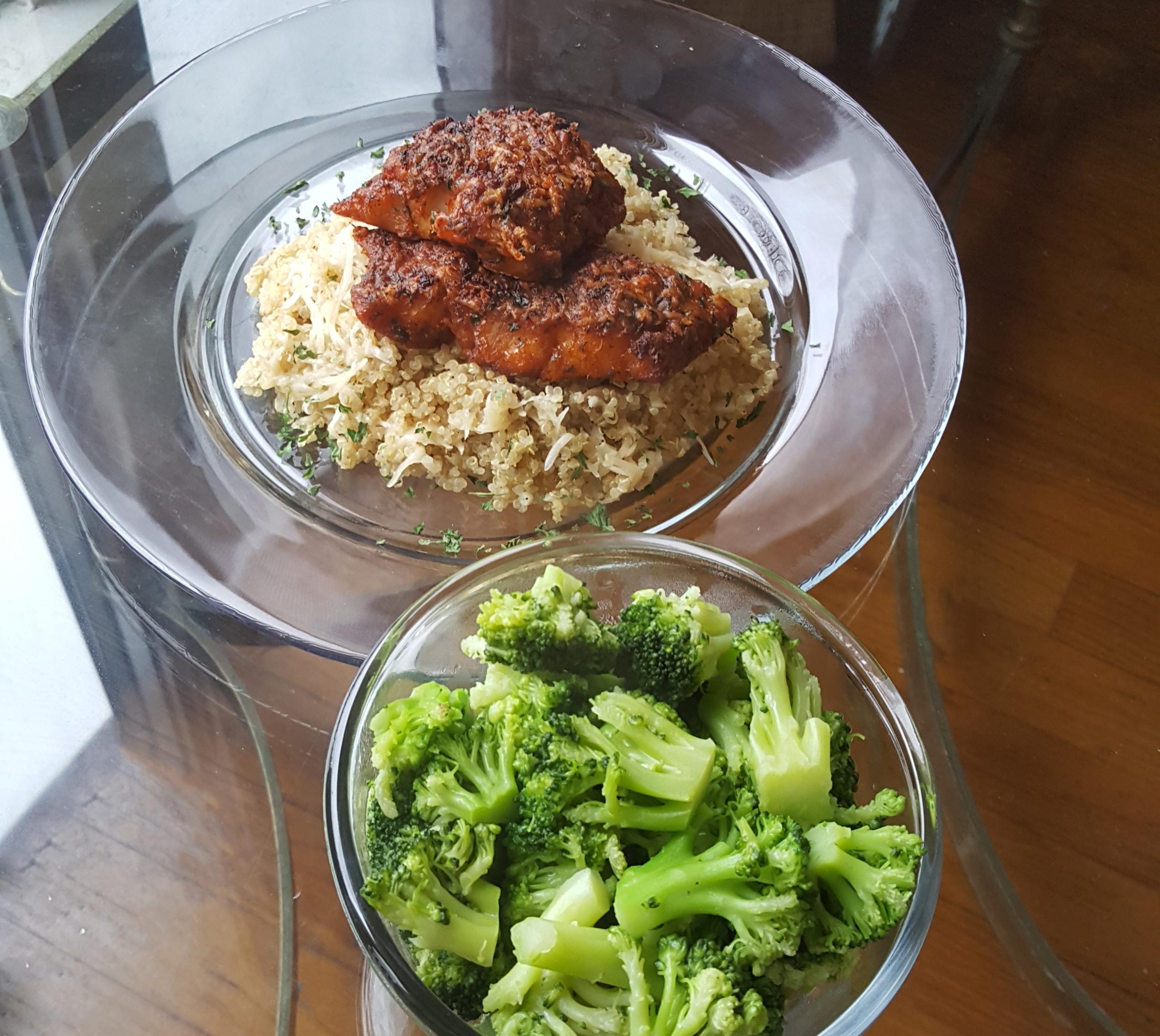 Cod Quinoa Broccoli edit