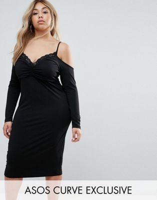 ASOS Black Bodycon Dress