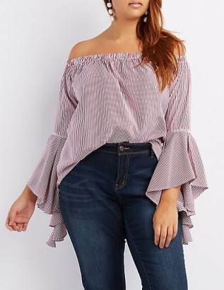 Charlotte Russe Off Shoulder Blouse2