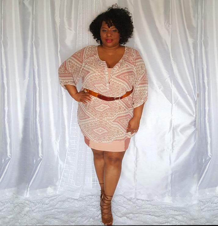 Peach Dress Printed Blouse.jpg