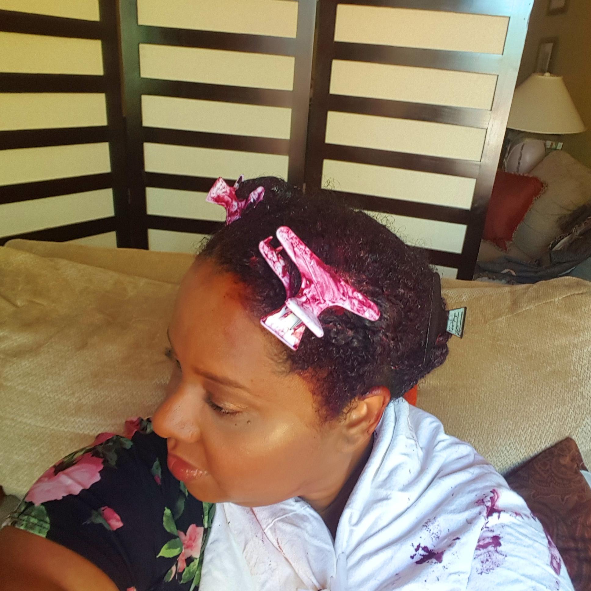 Dye Hair in Hair
