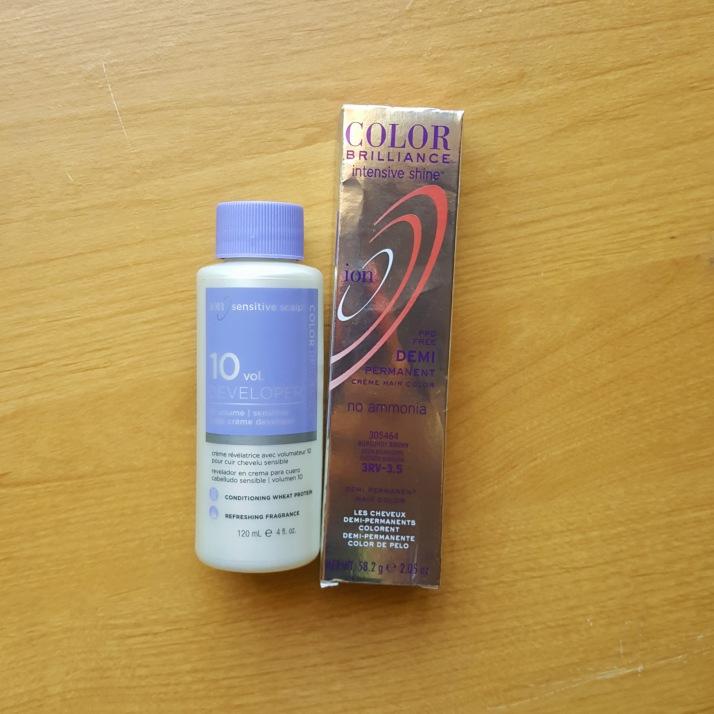 Dye Hair Materials