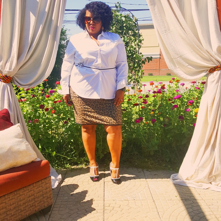 Avenue White Top Leopard Skirt2_edited-1