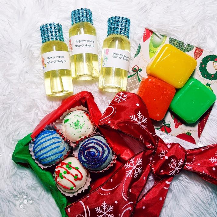 Hair & Body Oils gift set