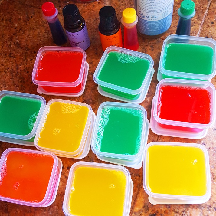 Shower Jelly in Containers