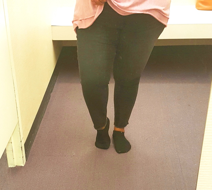JCP Black Ankle Pants