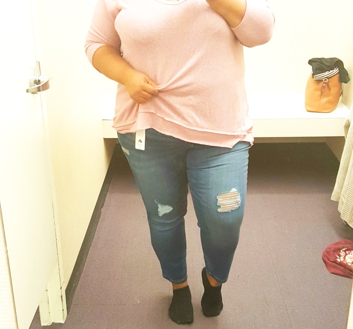 JCP Blue Distressed Jeans