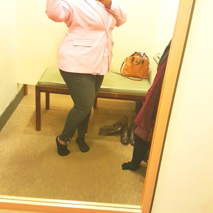 LB Dressing Room Light Pink Blazer2