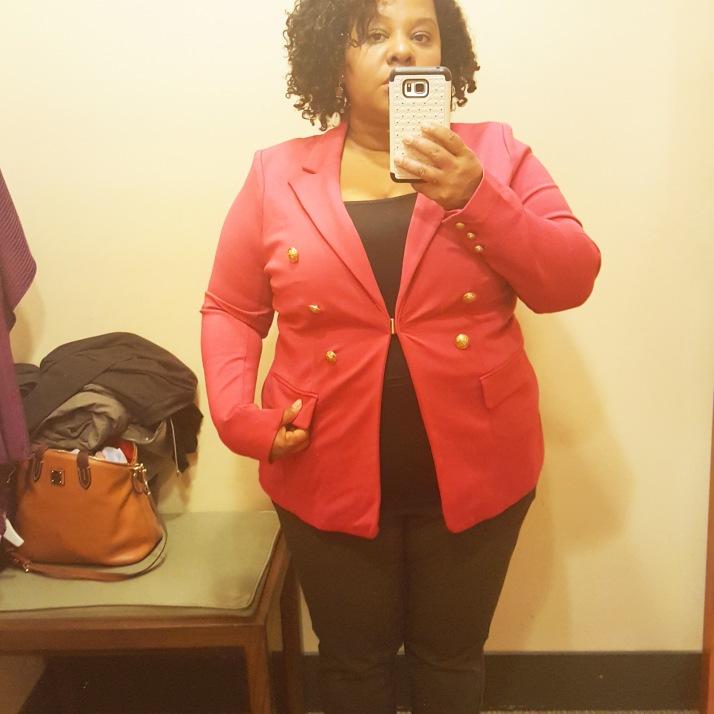 LB Dressing Room Pink Blazer