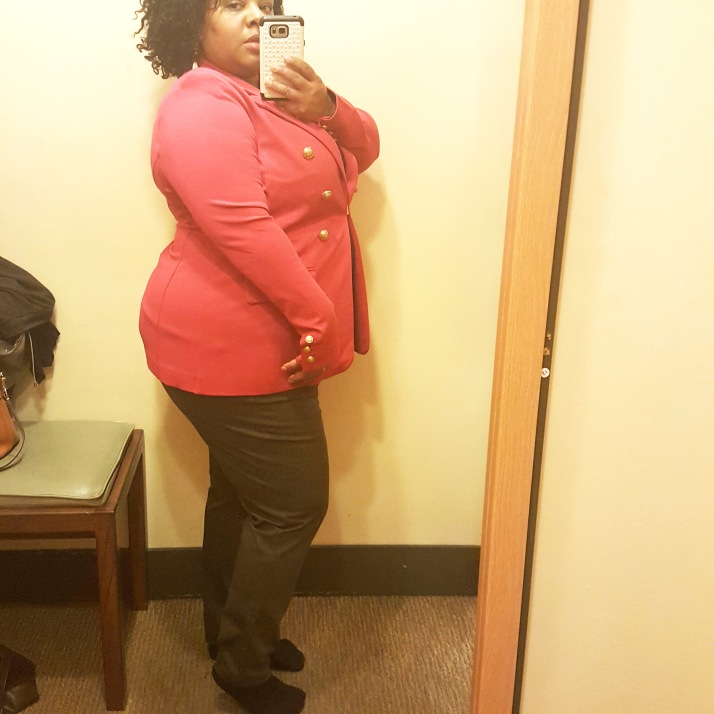 LB Dressing Room Pink Blazer2