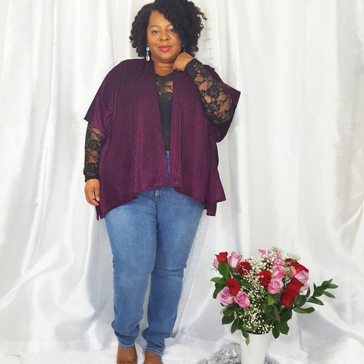 LB Purple Cardi Jeans2